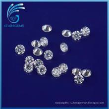 Оптовая цена 1.5 мм круглой бриллиантовой огранки Муассанит камни Муассанит кольца