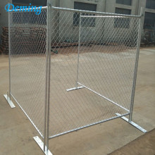 Situs Konstruksi Australia Galvanized Removable Used Temporary Fence,