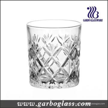 Estilo francés 8 oz grabado Whisky copa de cristal (GB040908ZS)