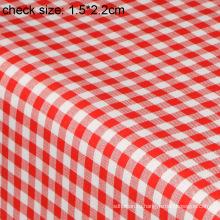 ПВХ печатных скатерть с Затыловкой волокна