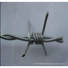 Hot Sale Galvanized Coated Double Stranded Barbed Wire