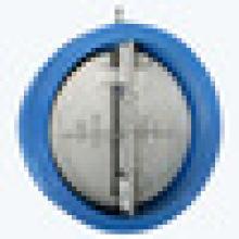 light weigt plain face wafer check valve