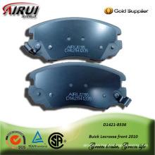 semi-metallic car brake pad for Buick Lacrosse front 2010