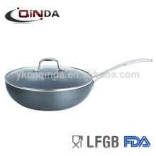 алюминиевая сковорода для приготовления консервированных шампиньонов специальности антипригарной омлет в посудомоечной машине с керамическим покрытием