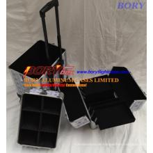 Hart Modische Kosmetik Trolley Box mit 3 Tiers