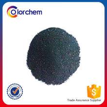 Fabricação de corante negro de enxofre de alta qualidade