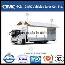 Hyundai Xcient Vc46 6X4 Van de Asa de Alumínio