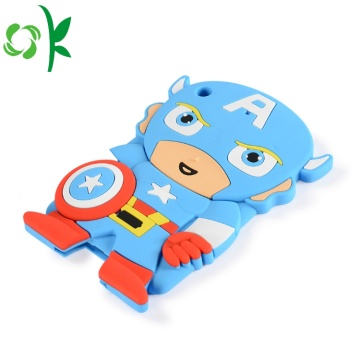 Super-man New Ipad Trường hợp Tablet Silicone Cover