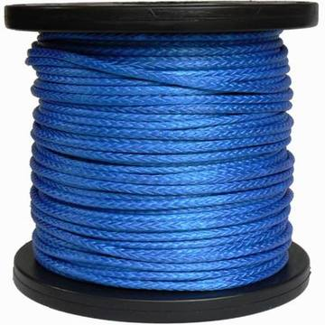 12 hilos UHMWPE Winch Rope Blue con carrete
