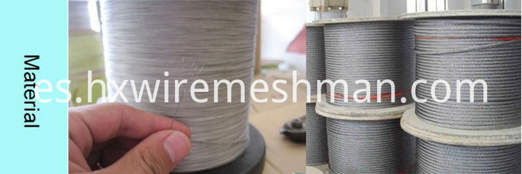 cable mesh material