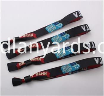 Decorative Polyester Wrist Bands