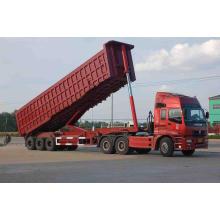 Remolque de la descarga del camión de 3 ejes de China Supplier