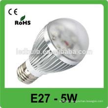 Top quality brightness led spot light 5/7w led bulb