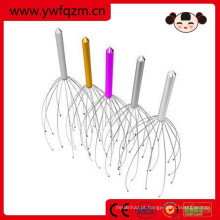 ferramentas coloridas do massager da cabeça do aço inoxidável