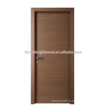 Veränderter furnierte schlichtes Design bündig Tür