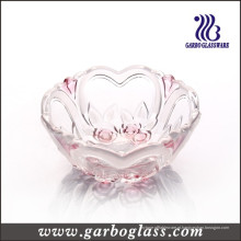 Pequeno coração em forma de vidro tigela (GB1633XMG-2 / PDS)
