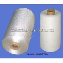 Fio de filamento de 5% de alto teor de cola GlueRayon contínuo com torção