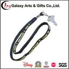 Pantalla de seda impresa la insignia de encargo / clave elemento de amarre