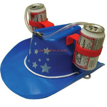 Custom Cowboy Beer Hat with Drinking Straw for St Patrik′s Holiday