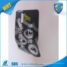 Garantie nulle si le sceau est cassé / garantie populaire vide autocollants / étiquette de sécurité de sécurité pour animaux de compagnie