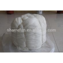 Hauts en fibre de cachemire chinois blanc 15.5-15.8mic / 44mm