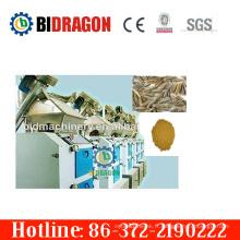 Usine de broyage en poudre de cumin complète complète complète à chaud avec 400 kg / h