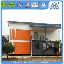 Surface personnalisée à l'intérieur de la conception mobilier complet maison à conteneurs modulaires