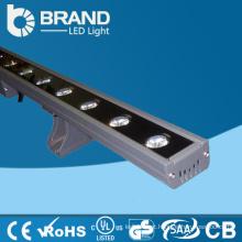 Impermeável IP65 DMX512 controle DC24V 500mm 12 * 3W RGB parede arruela