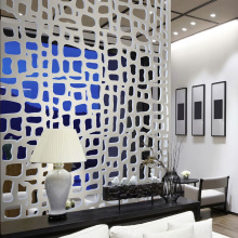 Laser Cut Metal Partition Room Divider Screen