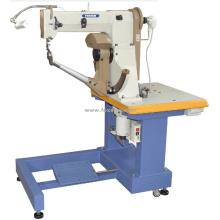 Máquina de coser lateral tipo sentado para botas