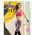 Fashion Fitness Leggings Leggins Hose Training läuft