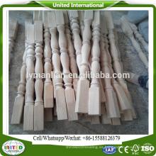 columnas de madera de la decoración del hogar columnas