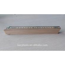 2 metros 10 pliegues alemán o sueco tipo Birch regla plegable de madera