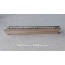 2 Meter 10 Folds German or Swedish Type Birch Wooden Folding Ruler