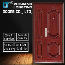 Steel Door, Double Leaf Cold-Rolled Steel Security Doors