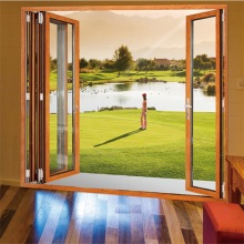 Small Aluminium Bi-fold Door with Hopo Hardware