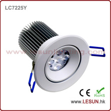 Empotrado Instal 5W / 10W LED Techo Down Light LC7225y
