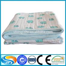 Manta de 3 capas super suave de algodón