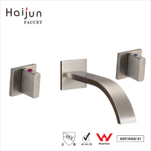 Haijun Cheap 0.1~1.6MPa Single Handle Wall Mount Bathroom Basin Faucets