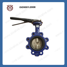 lug type two shaft butterfly valve