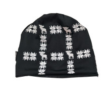 Promotion Custom Wholesale 100% polyester beanie, mode mössa hatt