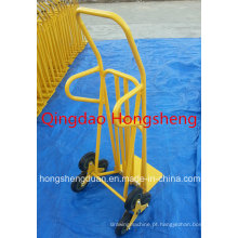 Carga de mão popular Ht8001 Trolley 120kg