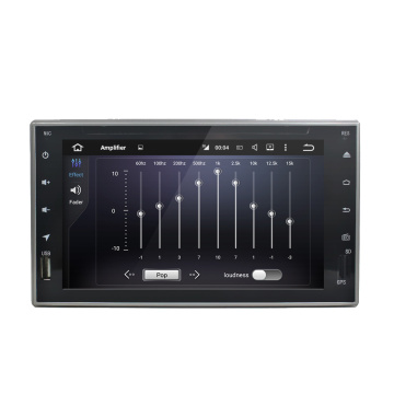 6.2 inch full touch universal dvd player