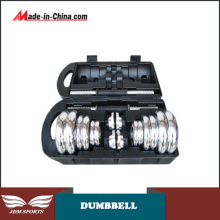 Whole Steel Dumbbell Chrome Steel Dumbbell Steel Adjustable Dumbbell