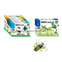 Boutique Baustein Spielzeug für DIY Insekt World-Mantis