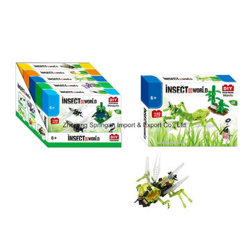 Boutique Building Block Toy for DIY Insect World-Mantis