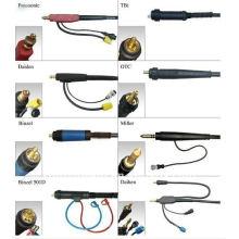 Conector del cable de soldadura