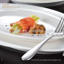 Serie feliz de la serie de porcelana china fina y cena de cerámica conjunto, vajilla, platos conjunto
