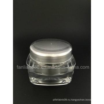 Роскошные бутылочки с акриловым кремом для косметической упаковки