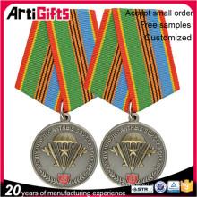 Оптовая изготовленный на заказ медаль металла сбывания жетон монета